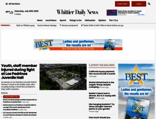 whittierdailynews.com screenshot