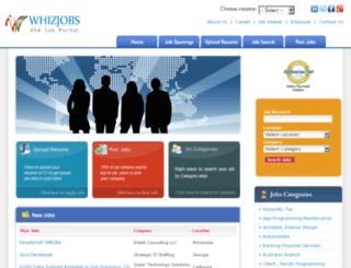 whizjobs.com screenshot