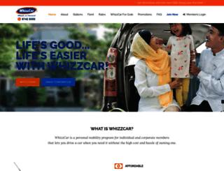 whizzcar.com screenshot
