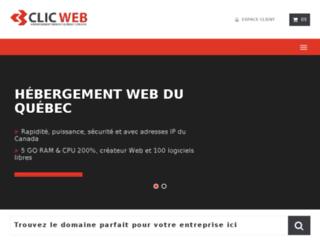 whmcs.clicweb.net screenshot
