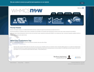 whmcsnow.com screenshot