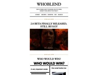 whoblend.tumblr.com screenshot