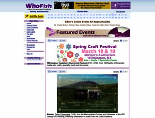 whofish.com screenshot