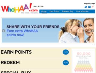 whohaa.com screenshot