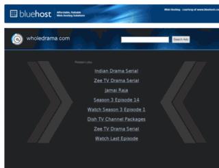 wholedrama.com screenshot