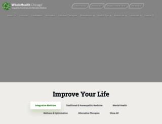 wholehealthchicago.com screenshot