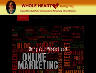 wholeheartmarketing.com screenshot