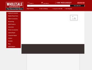 wholesale.ae screenshot