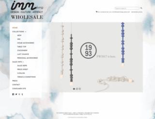 wholesale.imm-living.com screenshot