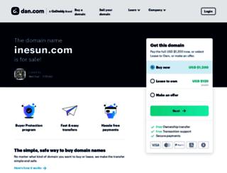 wholesale.inesun.com screenshot