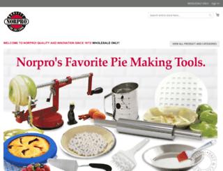 wholesale.norpro.com screenshot