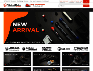 wholesaleblades.com screenshot