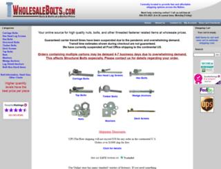 wholesalebolts.com screenshot