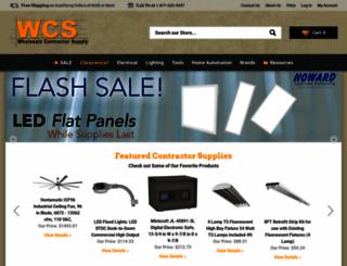 wholesalecontractorsupply.com screenshot