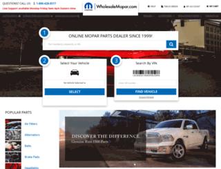 wholesalemopar.com screenshot