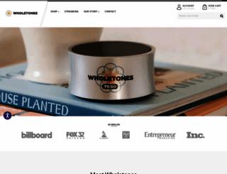 wholetones.com screenshot