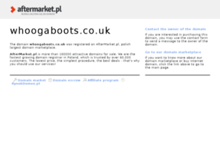 whoogaboots.co.uk screenshot