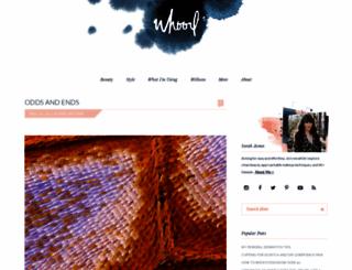 whoorl.com screenshot