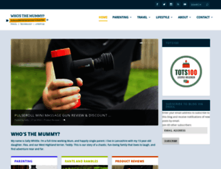 whosthemummy.co.uk screenshot