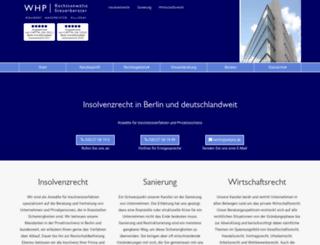 whpra.de screenshot