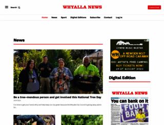 whyallanewsonline.com.au screenshot