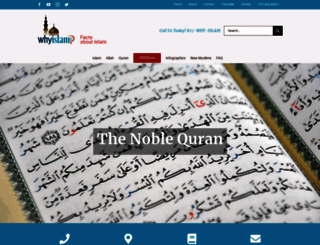 whyislam.org screenshot