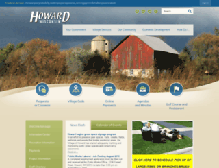 wi-howard.civicplus.com screenshot