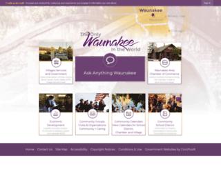 wi-waunakee2.civicplus.com screenshot