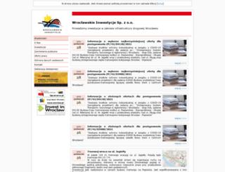 wi.wroc.pl screenshot