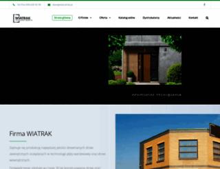 wiatrak.biz.pl screenshot