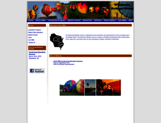 wiballoongroup.org screenshot