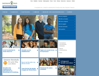 wichern-schule.de screenshot