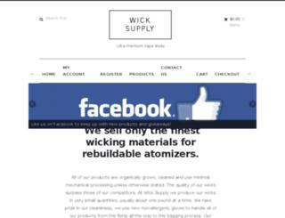 wick.supply screenshot