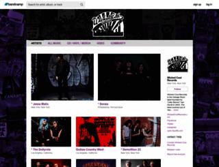 wickedcoolrecords.com screenshot