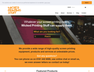 wickedprintingstuff.com screenshot