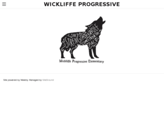 wickliffeprogressivepto.digitalpto.com screenshot