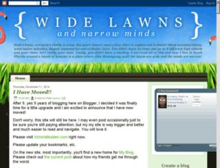widelawns.com screenshot