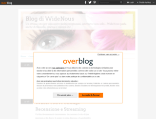 widenous.over-blog.it screenshot