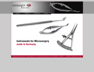 widmaier-instrumente.de screenshot