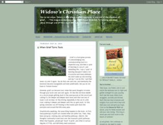 widowschristianplace.com screenshot