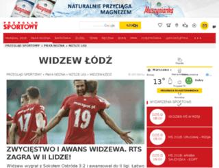 widzew.przegladsportowy.pl screenshot