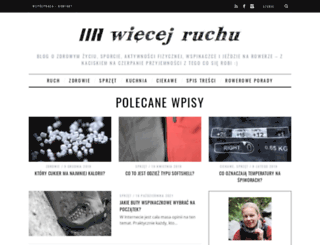 wiecejruchu.pl screenshot