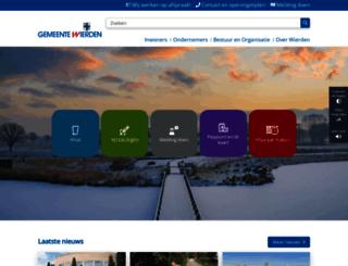 wierden.nl screenshot