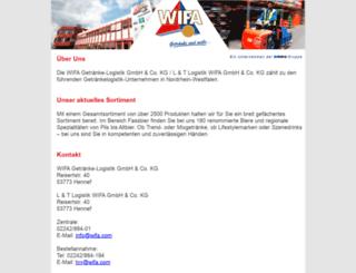 wifa.com screenshot