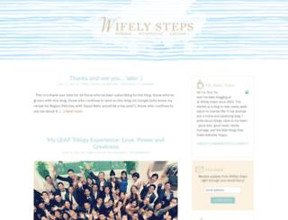 wifelysteps.com screenshot