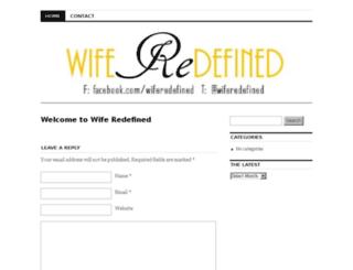 wiferedefined.com screenshot