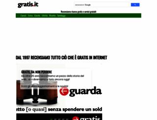 wifi.gratis.it screenshot