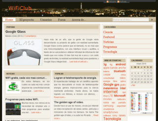 wificlub.org screenshot