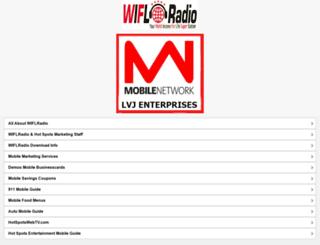 wiflradio.com screenshot