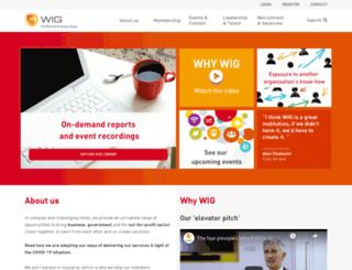 wig.co.uk screenshot